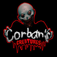 Corban's Creatures - Final Logo 2020 - on black
